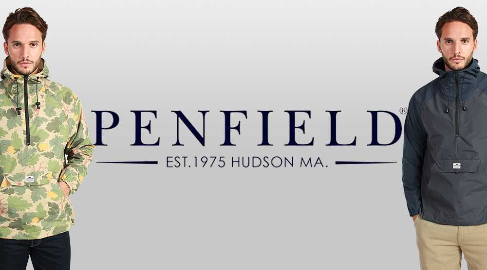 Новая коллекция анораков Penfield с технологией Durable Water Resistant.