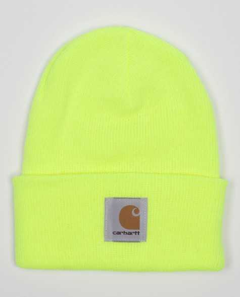 Шапка Carhartt USA Acryllic Watch Hat Lime цена в Москве