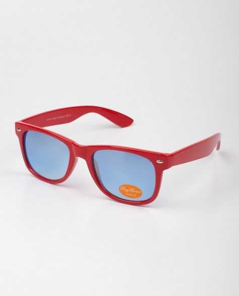 Очки Sunglasses Classic Modern Wayfarer Colored Lens Red цена в Москве