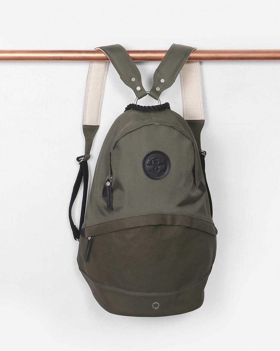081e2133200f Рюкзак городской Stighlorgan Oisin Canvas Backpack Olive Green