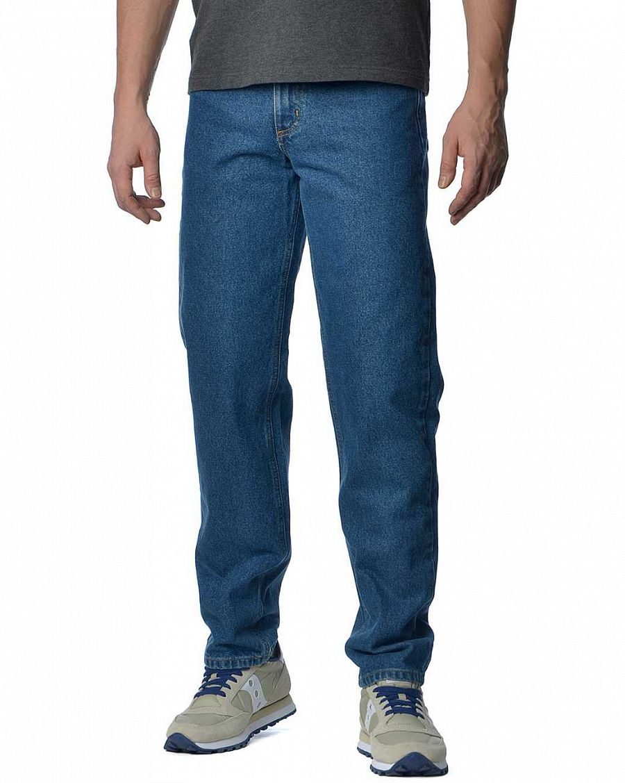 d8bce7ca001d Джинсы мужские Carhartt USA B17 DST Relaxid Fit Tapered Leg Jean Dark Blue  отзывы