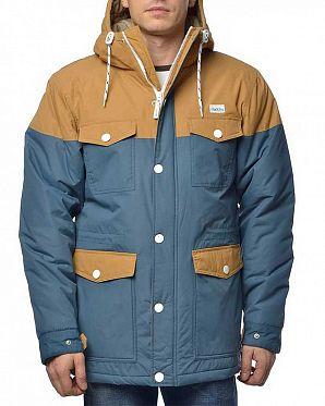 5d92bfe2e39 Куртка водоотталкивающая утепленная Iriedaily Insulaner Blue ...
