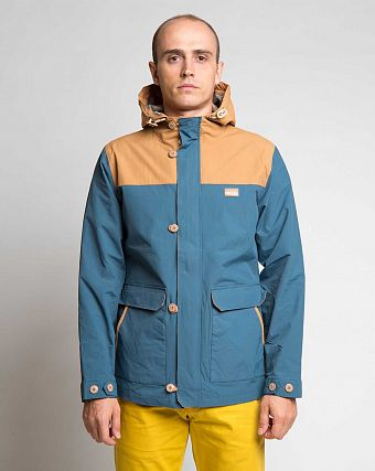 Куртка-парка Iriedaily Top Dock Jacket Steel Blue