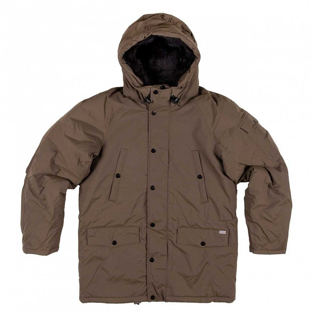 купить Куртка Carhartt Anchorage Parka Jacket Mountain/black в Москве