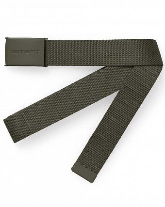 Ремень Carhartt WIP Clip Belt Tonal Blackforest