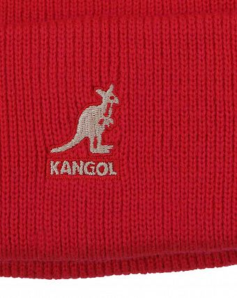 Шапка Kangol 2978BC Acrylic Cuff Pull-On Red