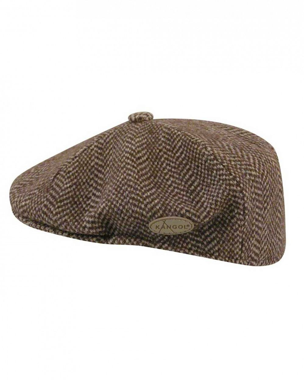 Кепка Kangol 0264KG Herringbone 504 Brown отзывы