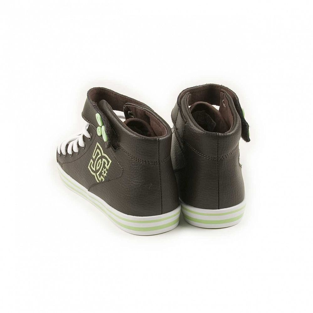 Кеды DC Shoes Venice Mid LE W'S Chocolate Green интернет-магазин в Москве