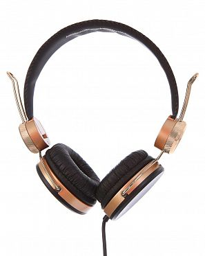 0cf480821cfc Наушники с микрофоном проводные складные WeSC Banjar On Ear Headphones  Black ...