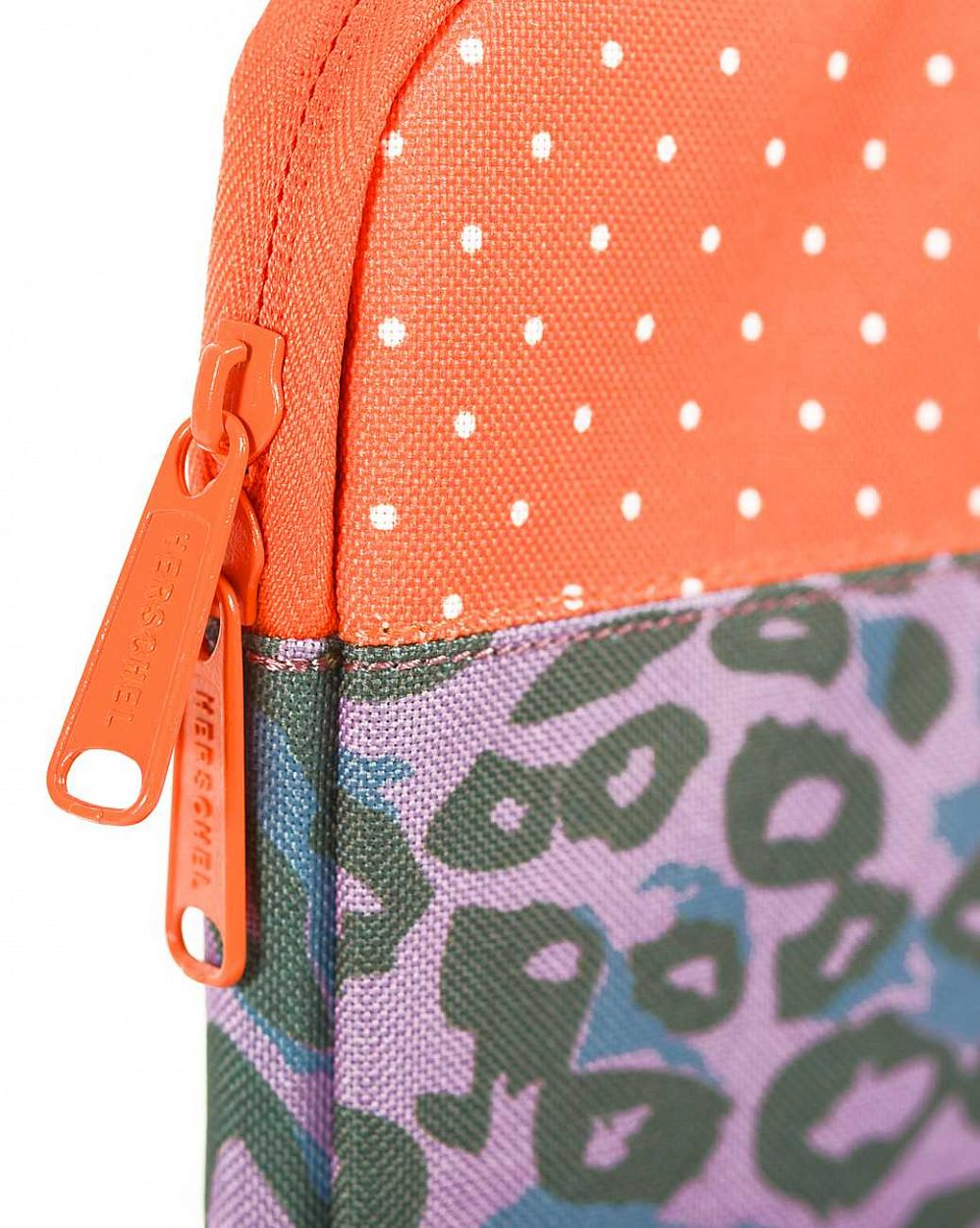 Чехол Herschel Anchor Sleeve для 11'' Macbook Purple Leopard Orange Polka Dot купить в интернете
