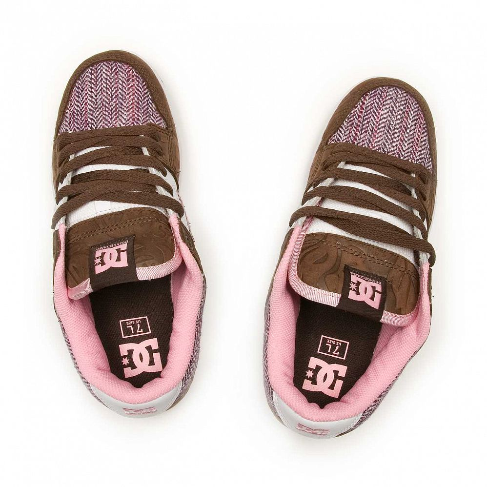 Кеды DC Shoes Manteca 2 W'S Dark Chocolate Pink купить в интернете