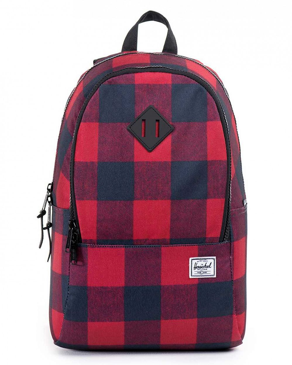 купить Рюкзак Herschel Nelson Buffalo Plaid Large Black Rubber в Москве