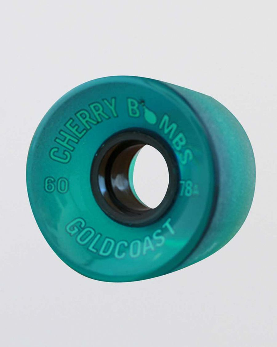 купить Колеса Gold Coast Longboards CHERRY BOMBS 60MM 78A BLUE в Москве