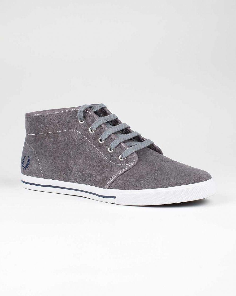 Кеды Fred Perry Fletcher Suede Steel отзывы