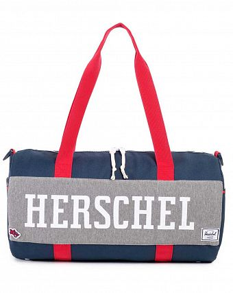 Сумка спортивная Herschel Sutton Mid-Volume Hounds Home Navy Red