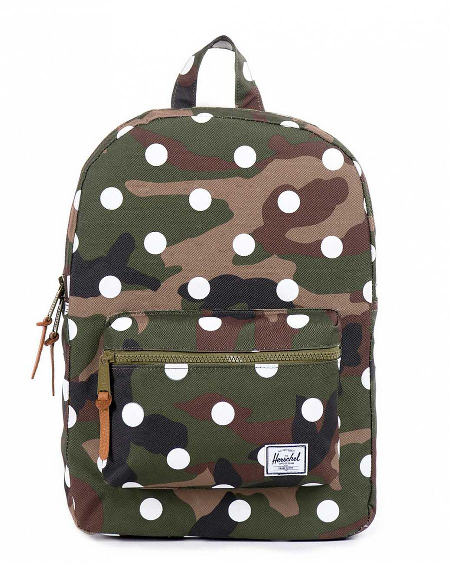 купить Рюкзак Herschel Settlement Youth Woodland Camo Polka Dot в Москве