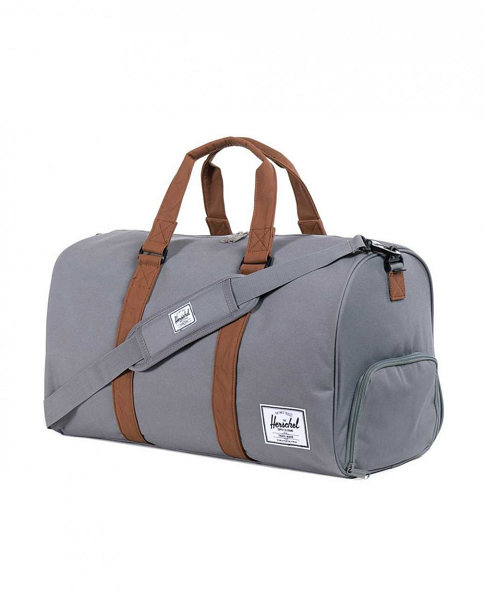 Сумка спортивная Herschel Novel Grey Tan цена в Москве