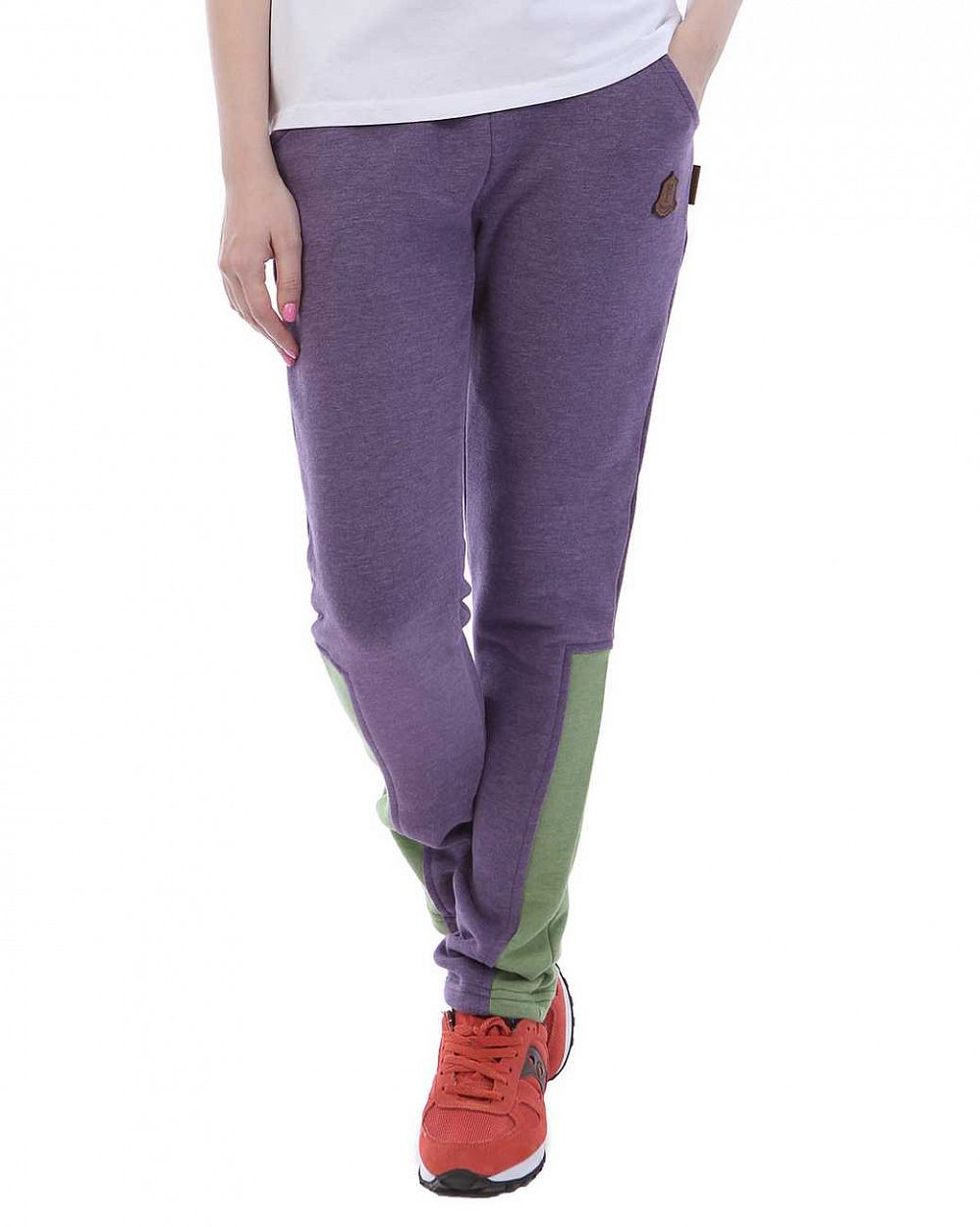 Джоггеры женские Naketano Two Ton Pocket Double Ton Purple Lime отзывы