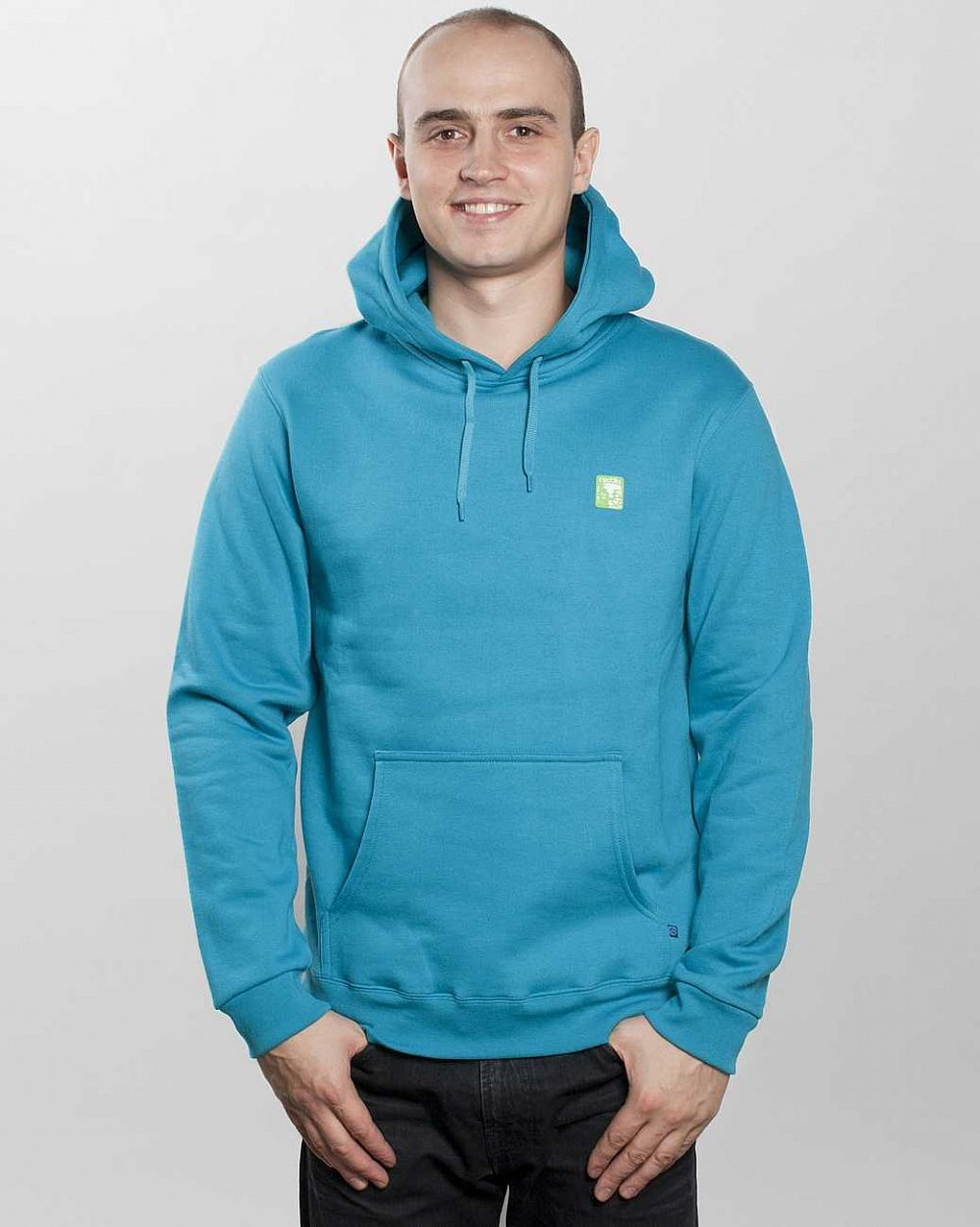 Толстовка Iriedaily Mini Monk Hooded Petrol отзывы