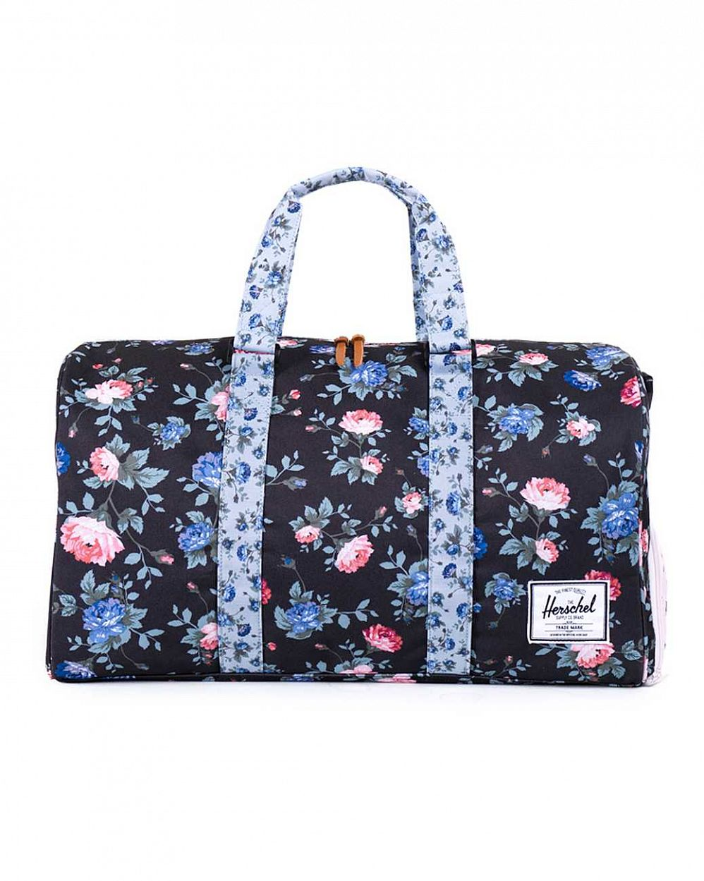 Сумка спортивная Herschel Novel Black Floral отзывы