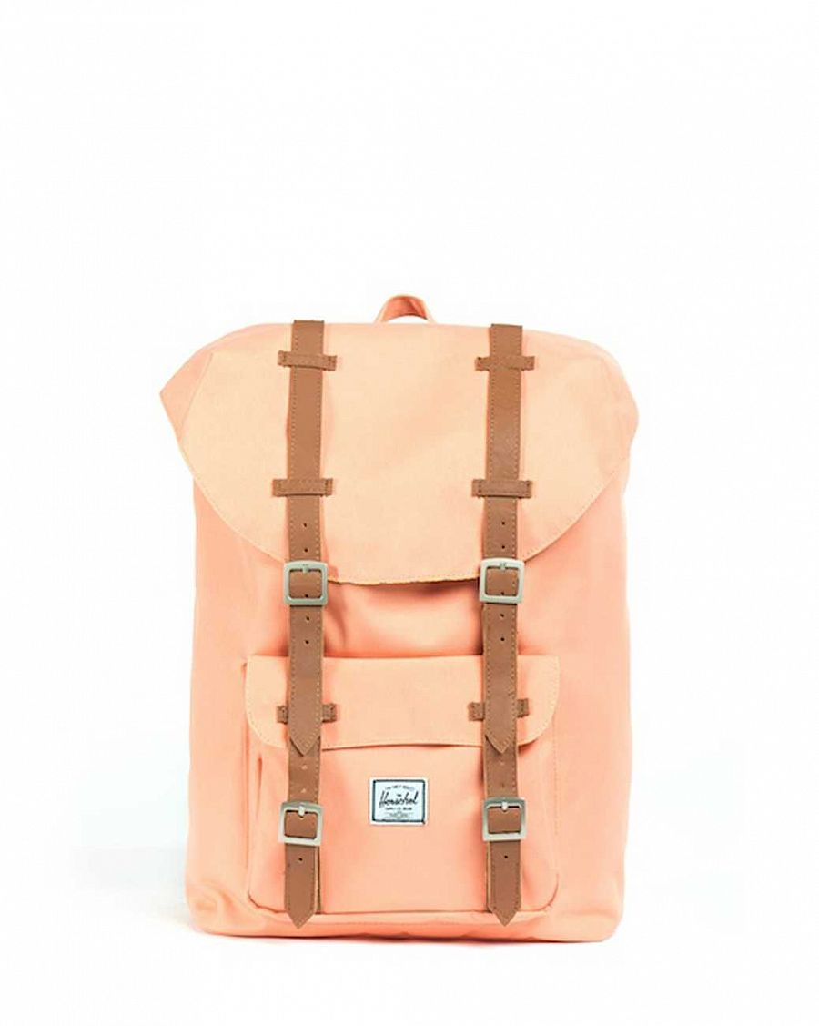 Рюкзак Herschel Little America Mid-Volume Salmon отзывы