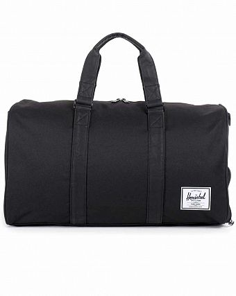Сумка спортивная Herschel Novel Black Black PU