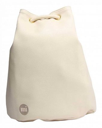Рюкзак-мешок кожаный Mi-Pac Gold Swing Sack Bag tumbled cream