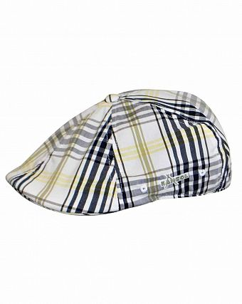 Кепка летняя Kangol Plaid Flexfit 504 Tensor Check