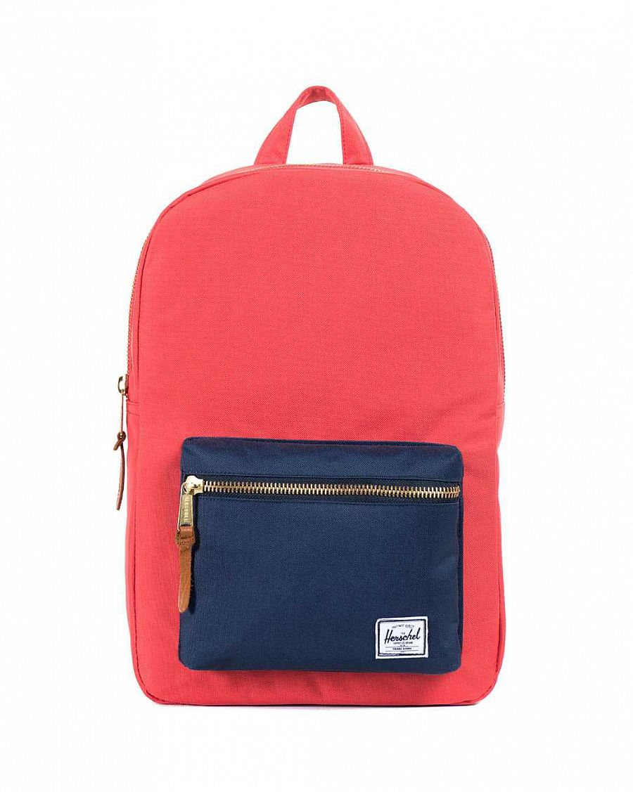 купить Рюкзак Herschel Settlement Mid-Volume Salmon Navy в Москве