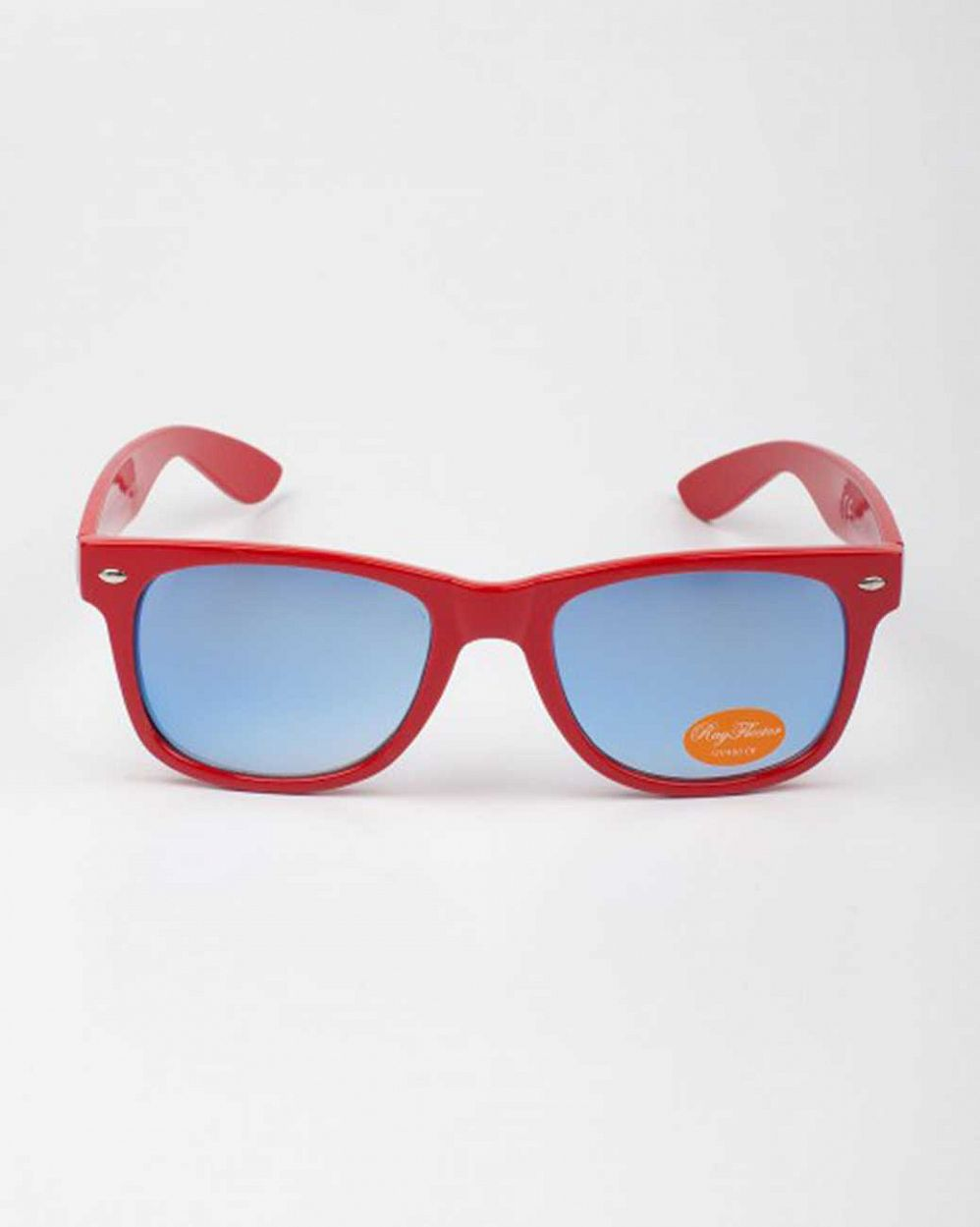 купить Очки Sunglasses Classic Modern Wayfarer Colored Lens Red в Москве