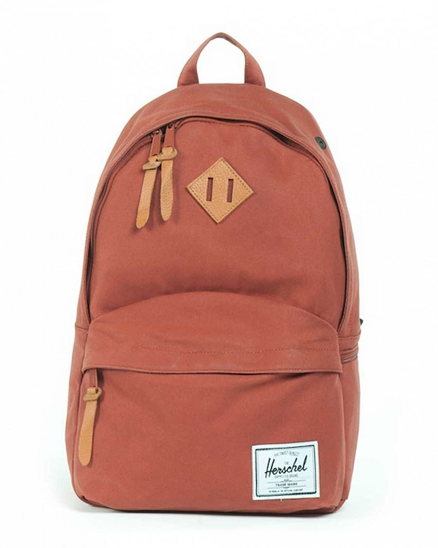 Рюкзак Herschel Pinebrook Premium Rust Hemp Cotton отзывы