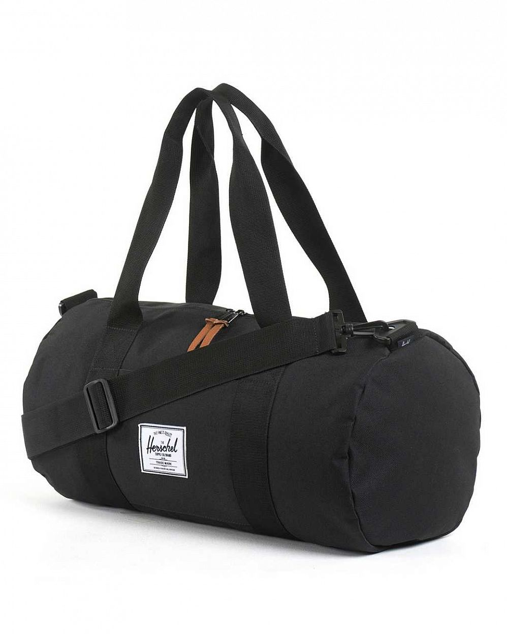 Сумка спортивная Herschel Sutton Mid Volume Black купить в интернете