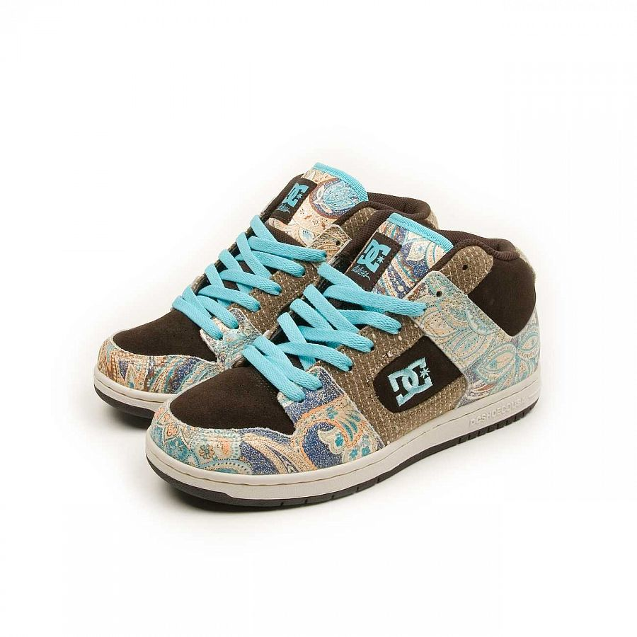 Кеды DC Shoes Manteca 2 MID W'S LE Ladies Shoe Dkch/ocn отзывы
