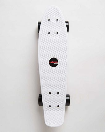 Пенни борд рыбка Reliance Penny board Black White