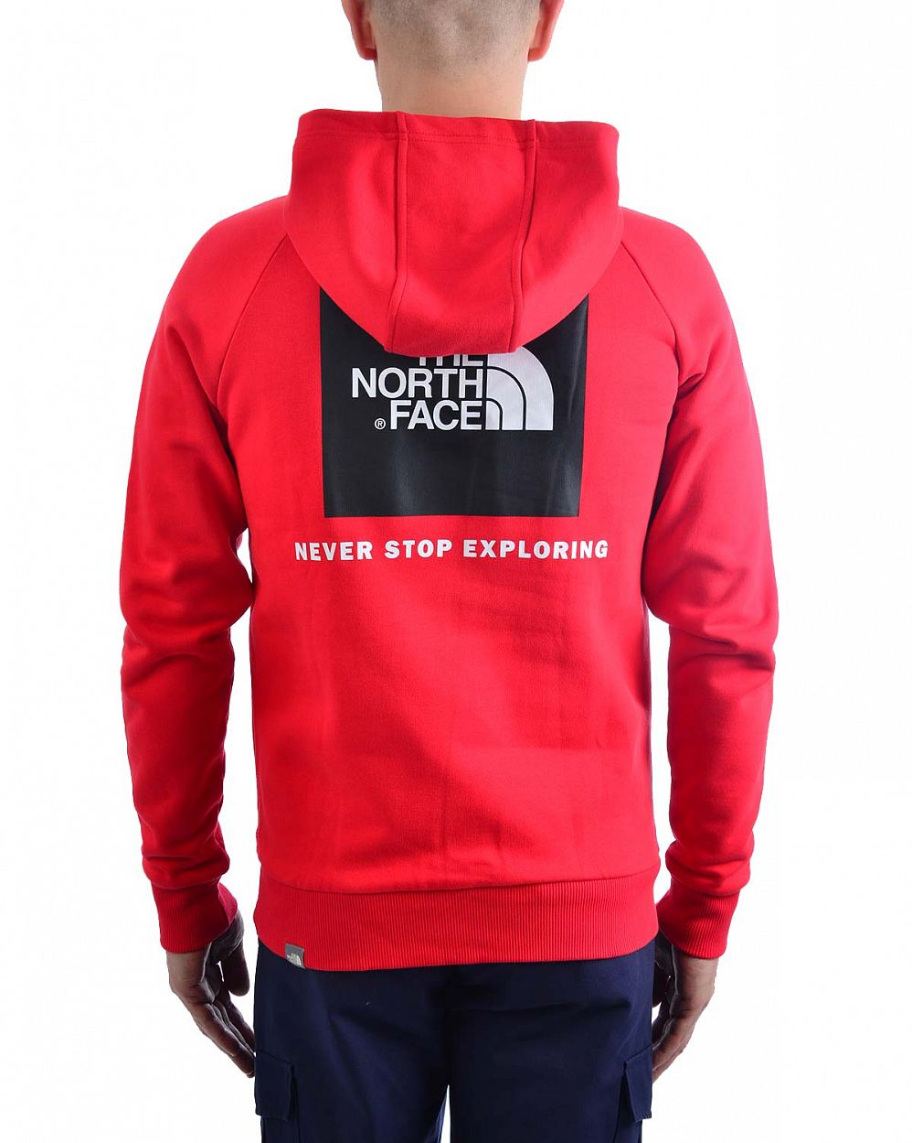 7841a9989c1 Толстовка мужская с капюшоном флисовая The North Face Raglan Red отзывы  2  ...