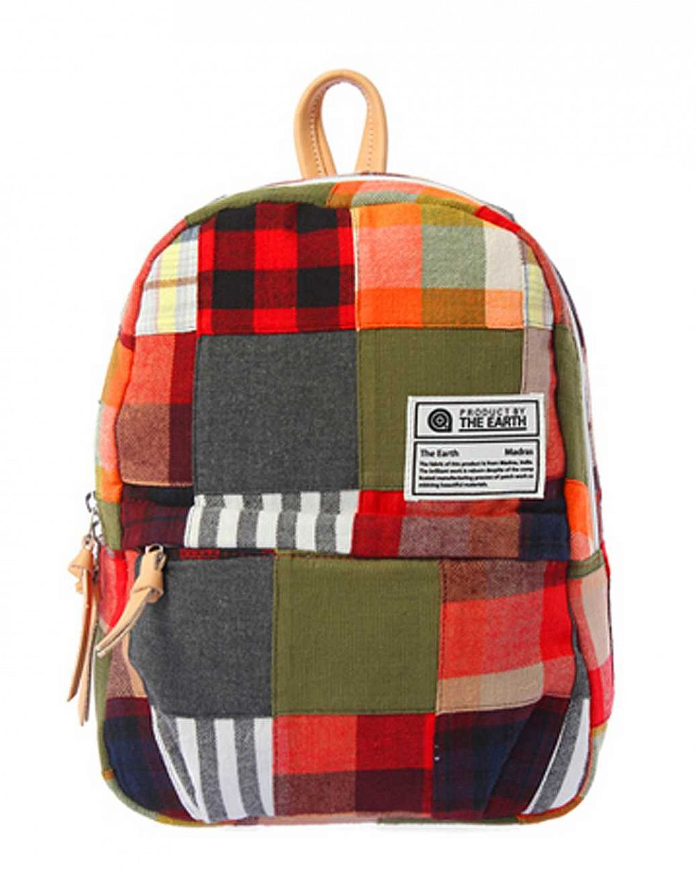Рюкзак The earth Company Madras Patch Work Daypack mini multi mix отзывы