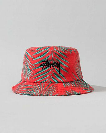 Панама Stussy Palm Bucket Hat Red