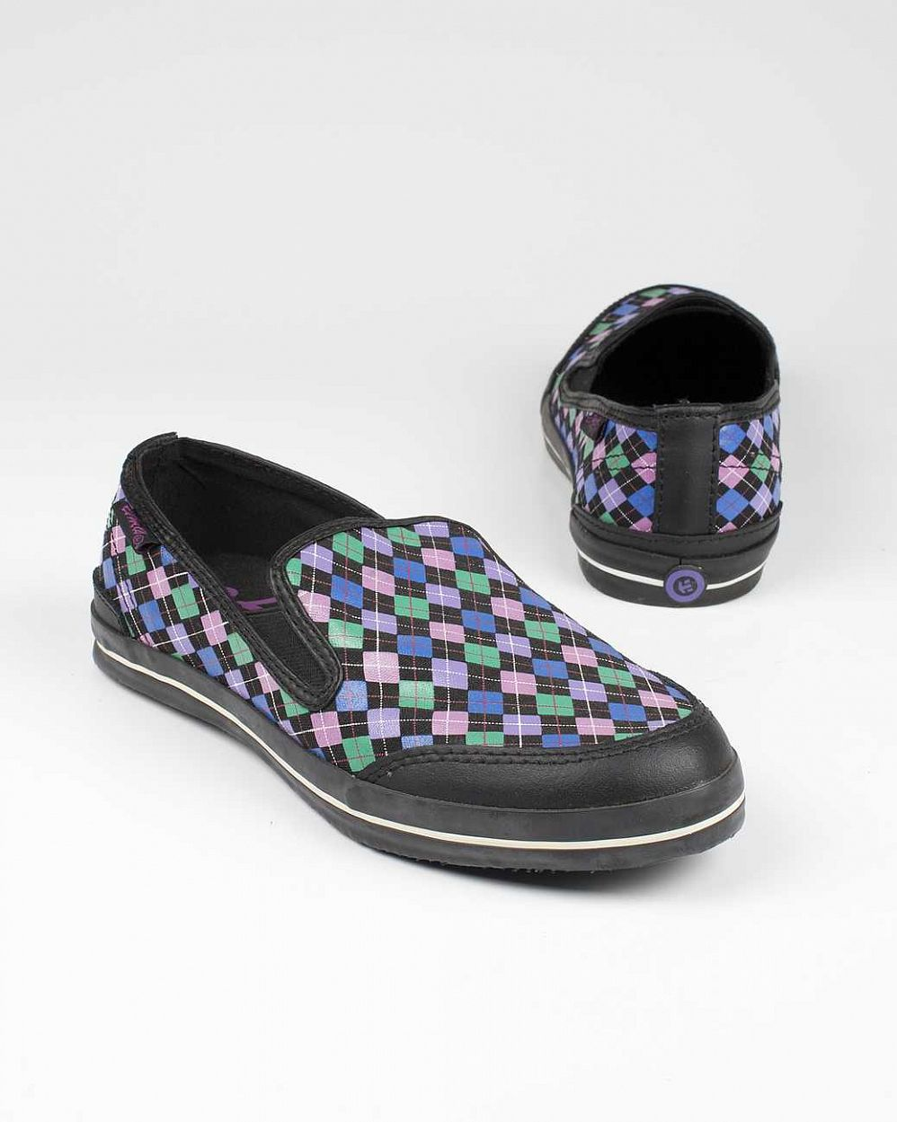 Слипоны Etnies Chambosa WS black purple отзывы