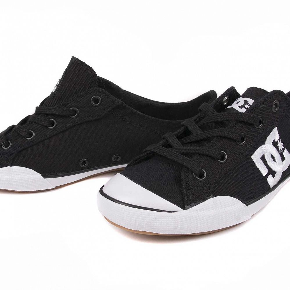 Кеды DC Shoes Chelsea Z Low W'S Black White цена в Москве