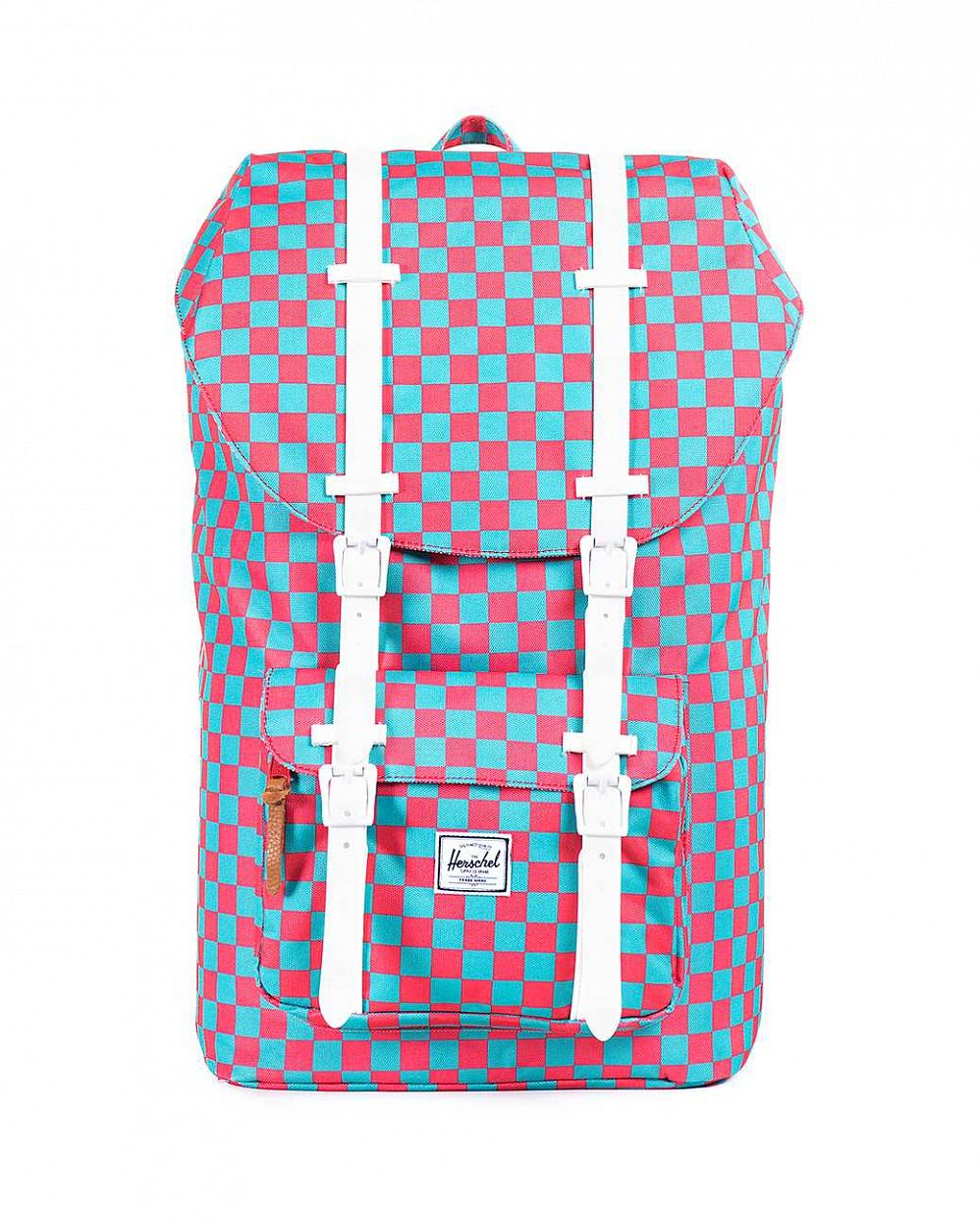 купить Рюкзак Herschel Little America Salmon Picnic White Rubber в Москве