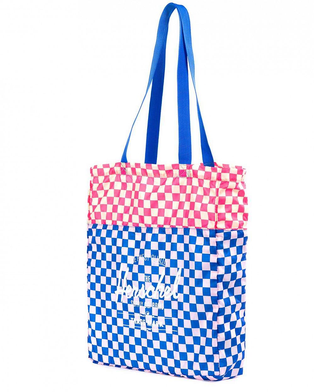 Сумка складная Herschel Packable Travel Tote Bag Cobalt Picnic цена в Москве