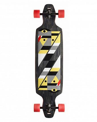 Лонгборд Gold Coast Longboards Serpentagram Black