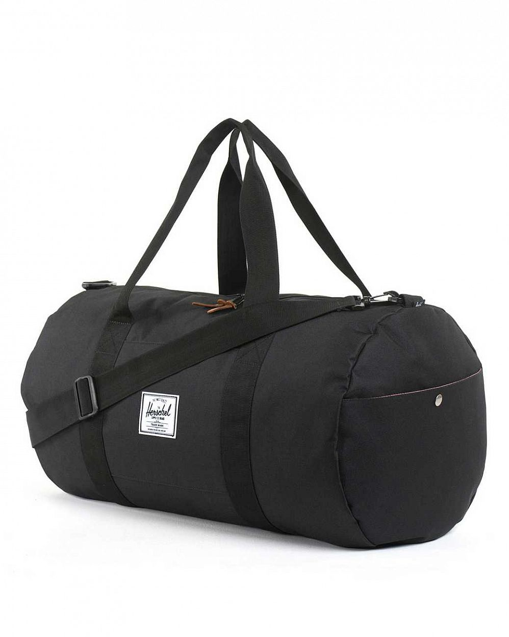 Сумка спортивная Herschel Sutton Black купить в интернете