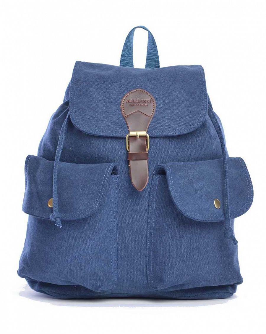 555fc11a02e8 Рюкзак женский городской Kaukko Authentic Bags Co.Ltd FJ17 Navy отзывы
