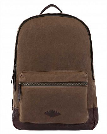 Рюкзак премиум Fossil 15 Laptop Backpack Estate Canvas Khaki
