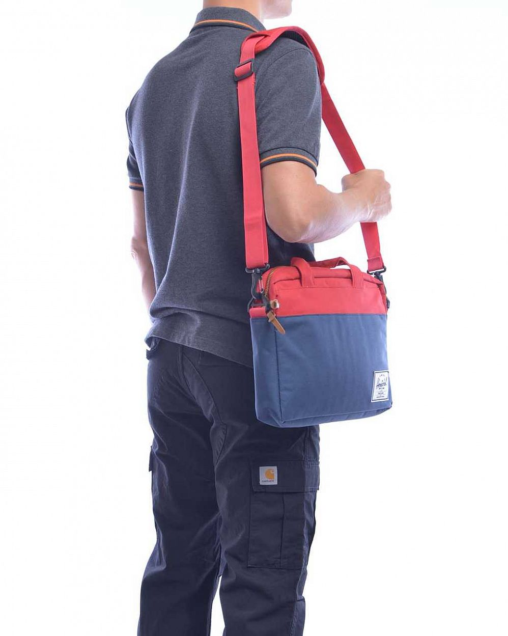 Сумка Herschel Hudson Rust Copper Navy в розницу