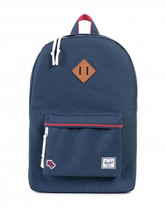 Рюкзак городской Herschel Heritage Hounds Navy Red
