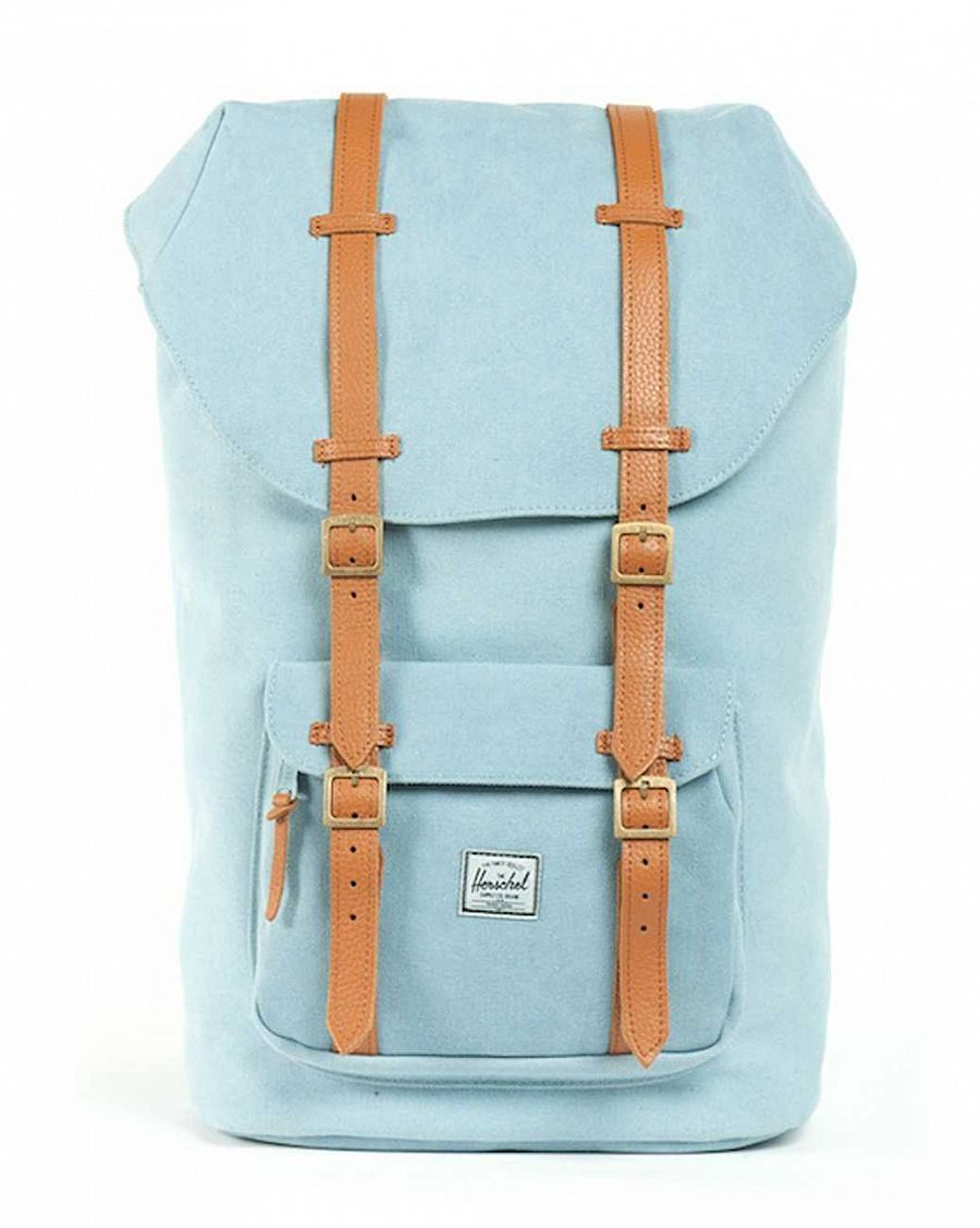 Рюкзак Herschel Little America Canvas Steel Blue отзывы