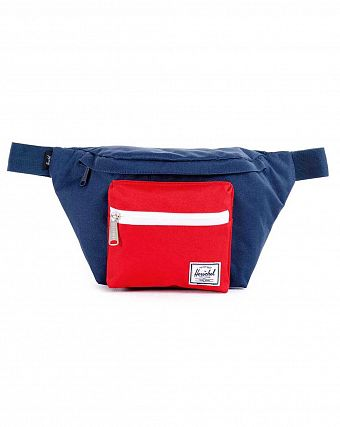 Сумка поясная Herschel Seventeen Navy Red