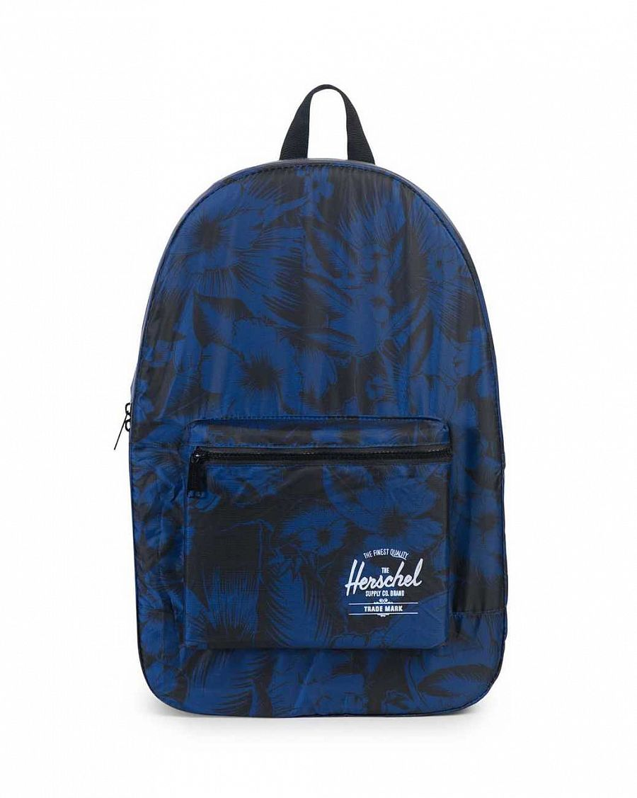 Рюкзак складной Herschel Packable Daypack JUNGLE FLORAL BLUE отзывы